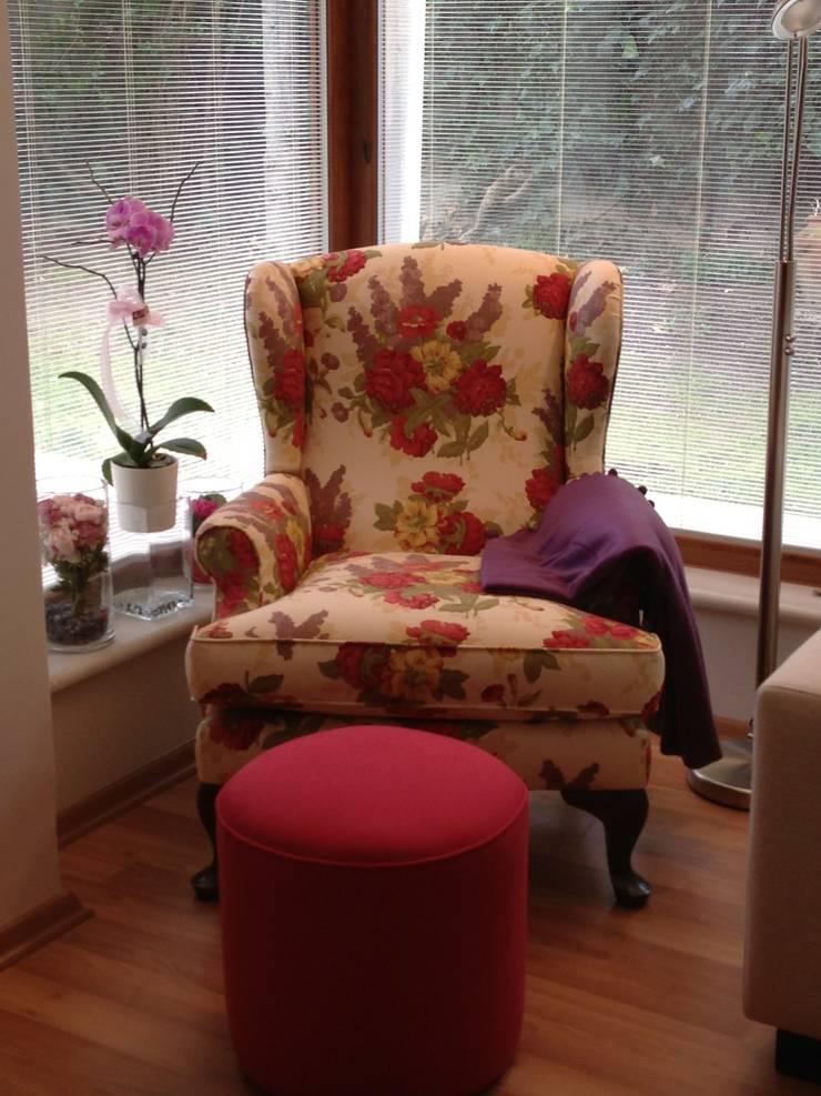 GENT İÇ MİMARLIK – ETİLER KONUT:  tarz Oturma Odası
