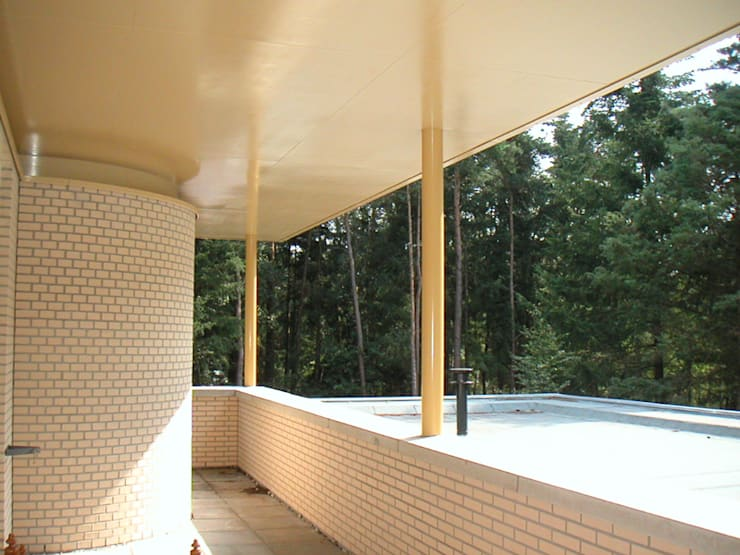 Terrazas de estilo  de SL atelier voor architectuur, Moderno