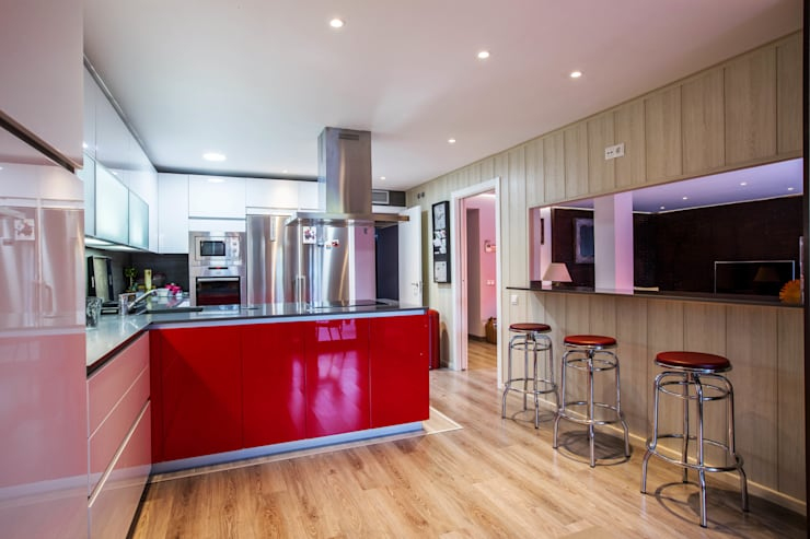 Casa Victoria: Cocinas de estilo  de mdm09 arquitectura
