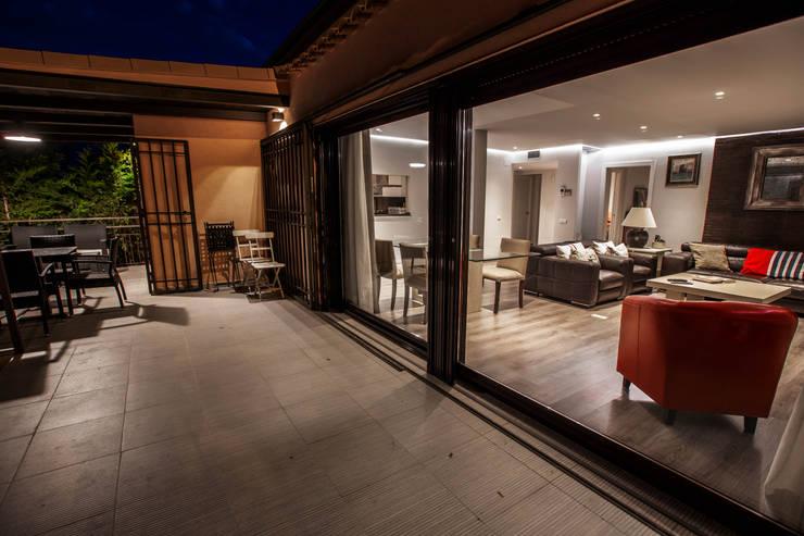 Casa Victoria: Terrazas de estilo  de mdm09 arquitectura
