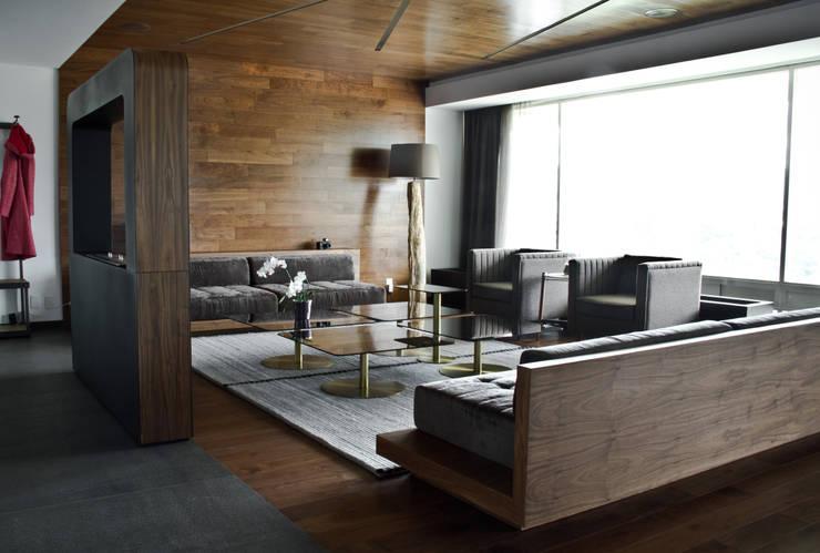 modern Living room by STUDIOROCA