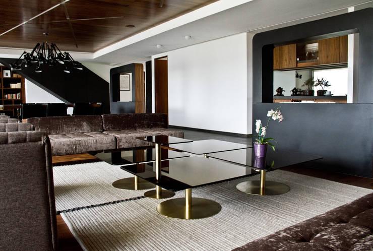 Proyectos studio Roca: Salas de estilo  por STUDIOROCA