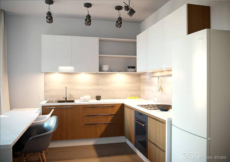 Projekty,  Kuchnia zaprojektowane przez 2GO Design Studio