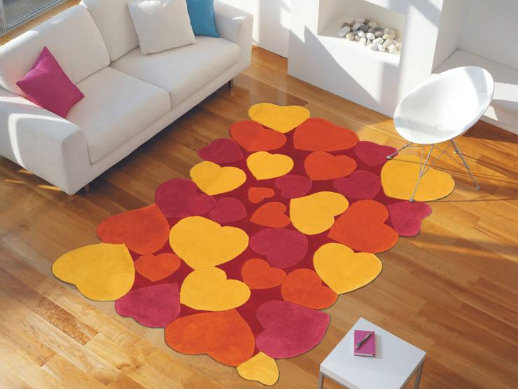 Tappeti Colorati Per Salotto : Tappeti su misura per una casa a prova di stile