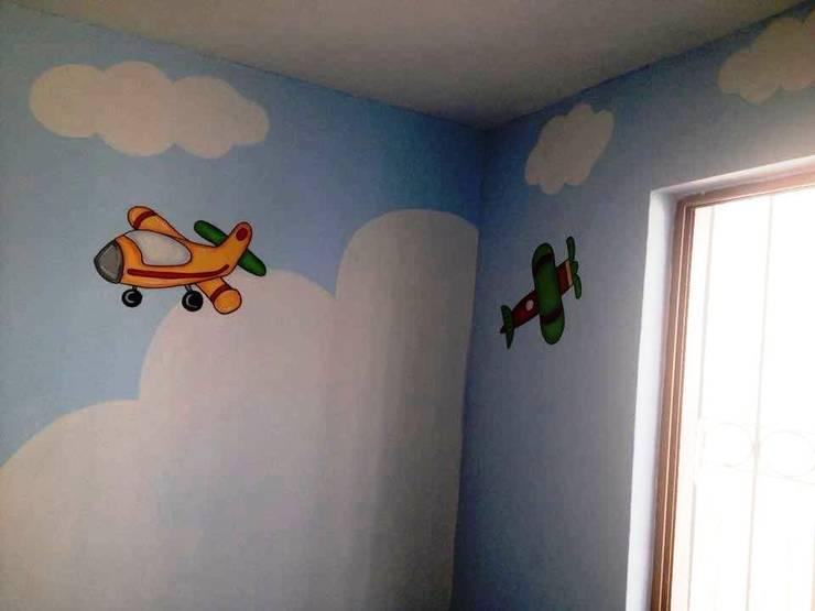 Murales: Paredes de estilo  por Decoracion Infantil  Decorar-t Kids