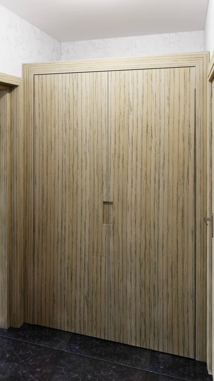 Closet: Recámaras de estilo  por diesco