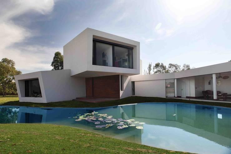 Casa Orquidea: Piletas de estilo moderno por Remy Arquitectos