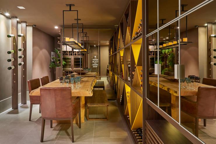 Decora Líder Brasília - Morada da Família Tignaello: Salas de jantar  por Lider Interiores,