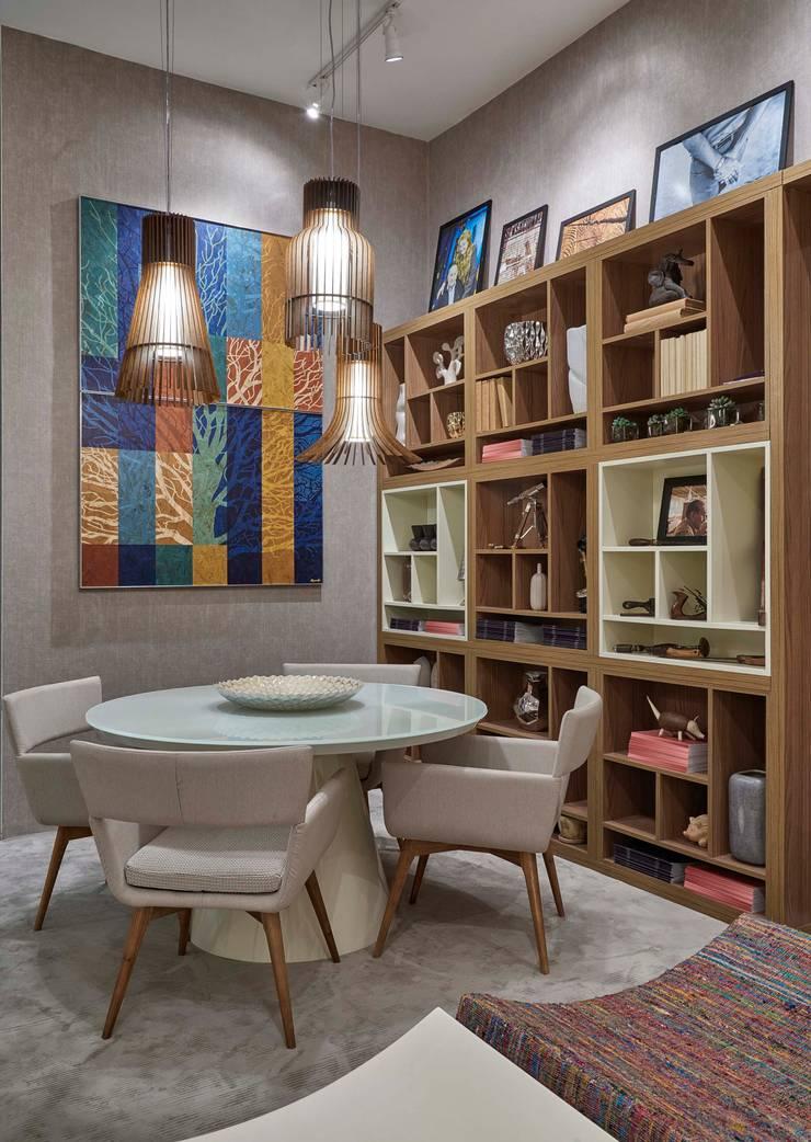 Decora Líder Belo Horizonte – Living do Seu João: Salas de jantar  por Lider Interiores