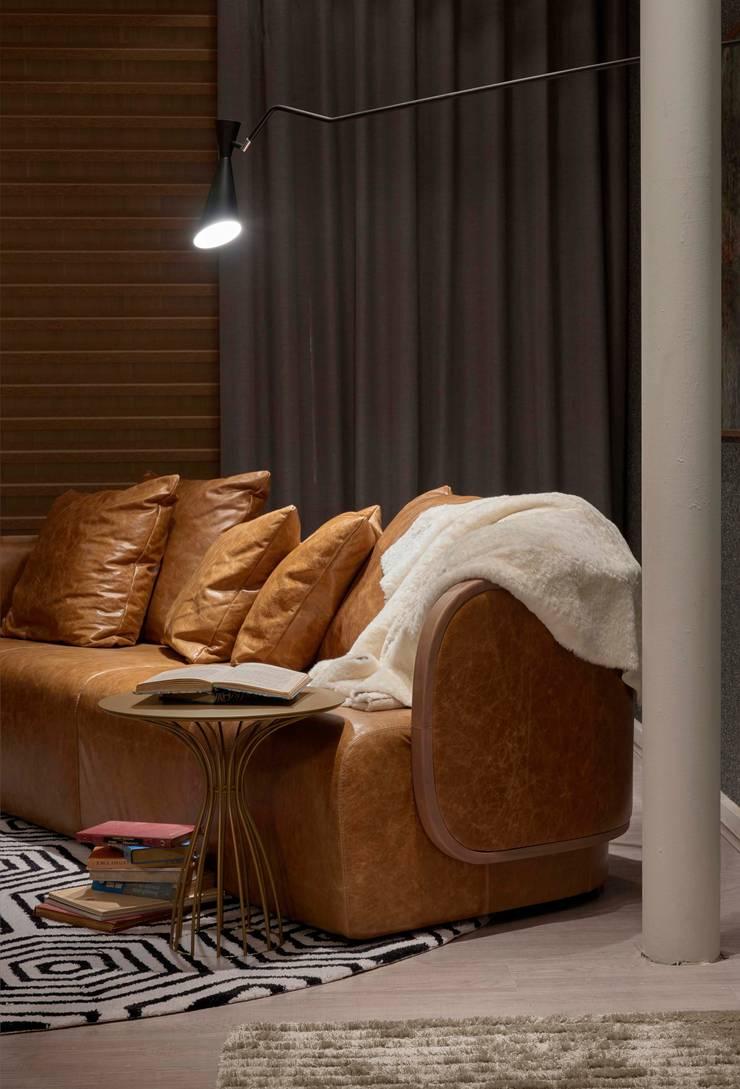Decora Líder Belo Horizonte – Home Office: Salas de estar  por Lider Interiores