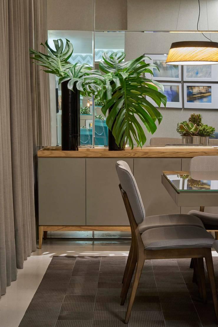 Decora Líder Belo Horizonte – Sala de Jantar: Salas de estar  por Lider Interiores,