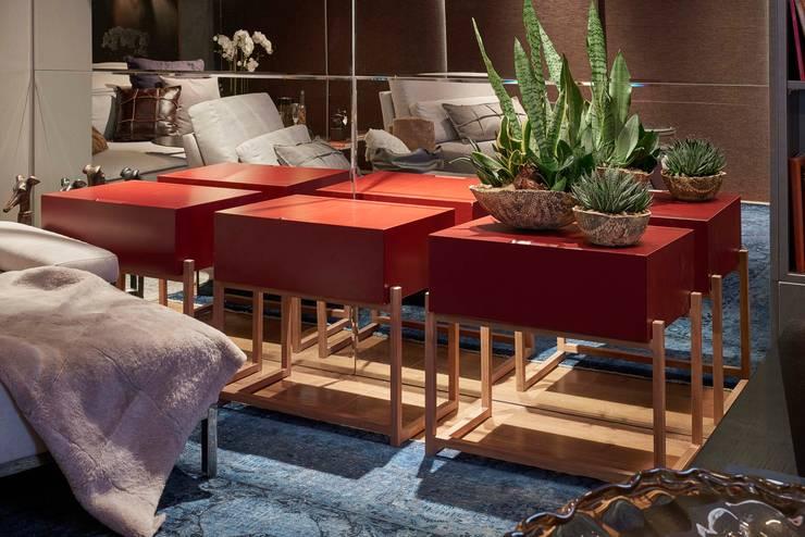 Decora Líder Belo Horizonte – Home Cinema: Salas de estar modernas por Lider Interiores