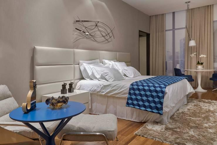 Decora Líder Belo Horizonte – Suíte de Hotel Quartos modernos por Lider Interiores Moderno