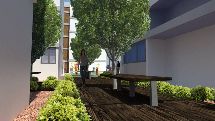 BROCHURE CAXÁ STUDIO: Jardines de estilo moderno por CAXÁ studio