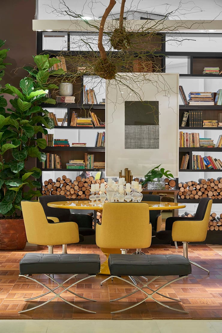 Decora Líder Belo Horizonte – Sala de Estar: Salas de jantar  por Lider Interiores