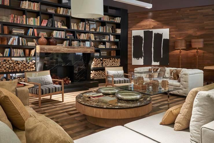 Decora Líder Belo Horizonte – Sala de Estar: Salas de estar  por Lider Interiores