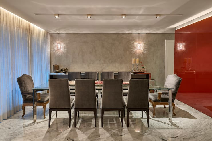 modern Dining room by Isabela Canaan Arquitetos e Associados