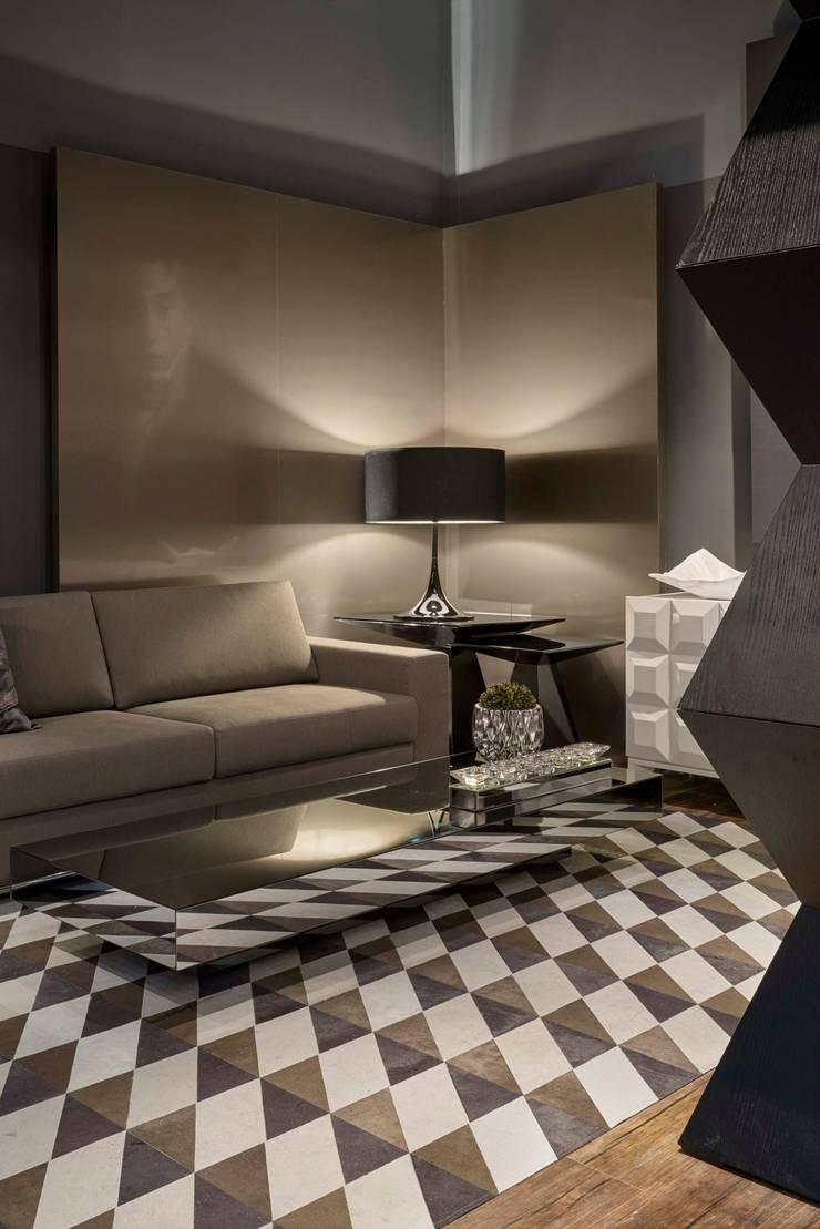 Decora Líder Belo Horizonte - Estar do Casal: Salas de estar modernas por Lider Interiores