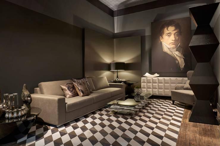 Decora Líder Belo Horizonte – Estar do Casal: Salas de estar modernas por Lider Interiores