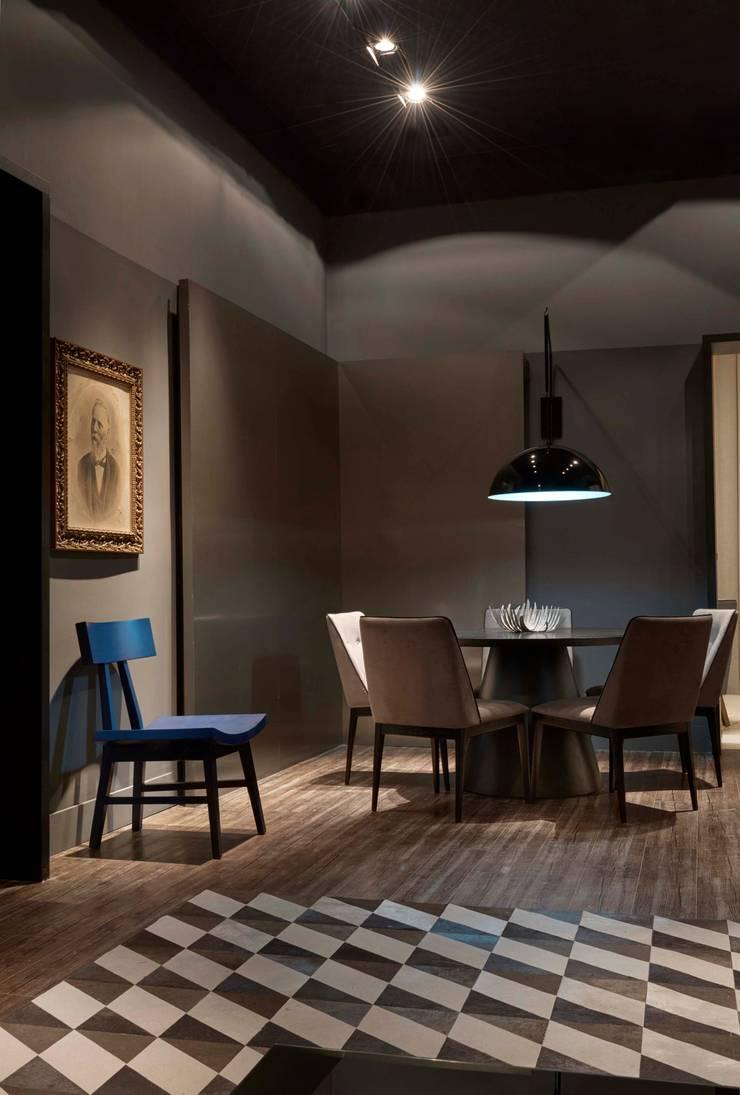 Decora Líder Belo Horizonte – Estar do Casal: Salas de jantar modernas por Lider Interiores