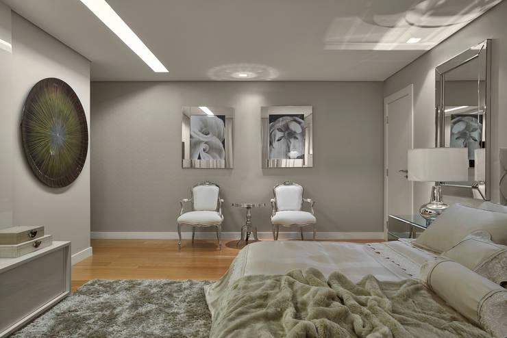 modern Bedroom by Isabela Canaan Arquitetos e Associados