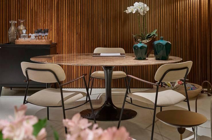Decora Líder Belo Horizonte – Loft: Salas de jantar  por Lider Interiores