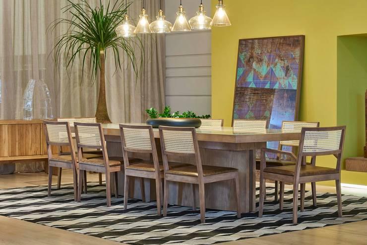 Decora Líder Belo Horizonte – Espaço Identidade: Salas de jantar  por Lider Interiores