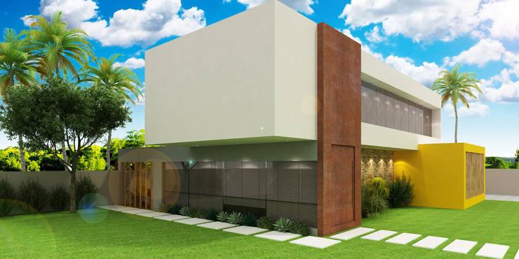 Residência: Casas  por Estúdio Criativo Arquitetura e Interiores