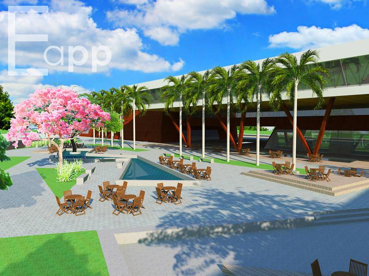 Centro Cultural de Joinville (Trabalho Acadêmico) : Escolas  por Estúdio Criativo Arquitetura e Interiores