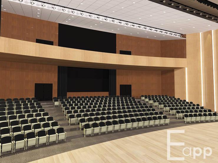 Centro Cultural de Joinville (Trabalho Acadêmico) : Locais de eventos  por Estúdio Criativo Arquitetura e Interiores