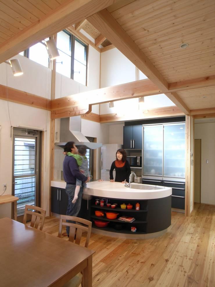 紀三井寺の家: 株式会社 atelier waonが手掛けたキッチンです。
