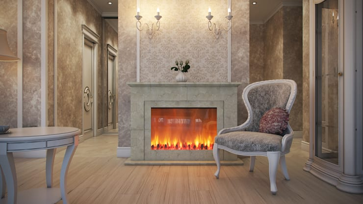 Четырехкомнатная квартира в классическом стиле: Гостиная в . Автор – Details, design studio