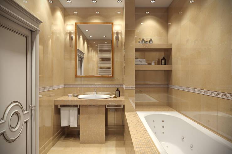 Baños de estilo  por Details, design studio