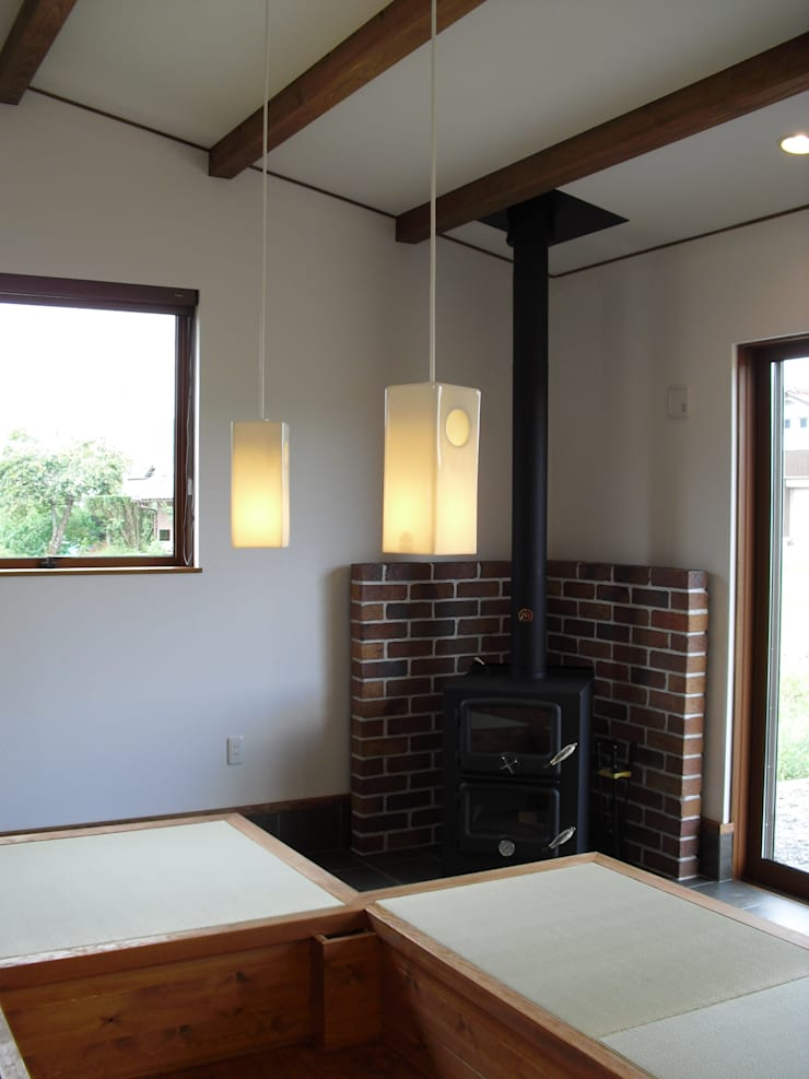 篠山の家: 株式会社 atelier waonが手掛けた和室です。