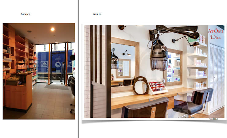 Rénovation Complète Du0027un Salon De Coiffure à Paris: De Style Par ...