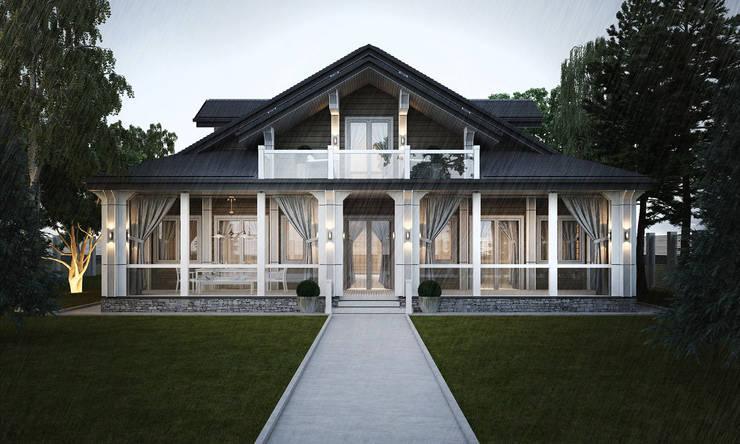 Projekty, klasyczne Domy zaprojektowane przez Way-Project Architecture & Design