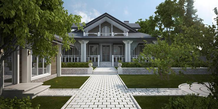Casas de estilo clásico de Way-Project Architecture & Design Clásico Madera Acabado en madera