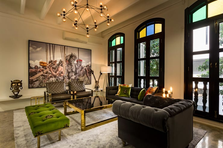 Living room by elliot James Pte Ltd