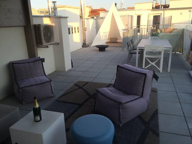 Designer Outdoor Mobel Auf Dachterrasse In Wien By Wohndesign