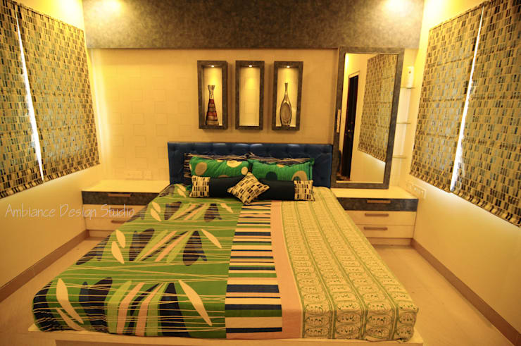 Mr Siddhart Shandilya:  Bedroom by Ambiance Design Studio