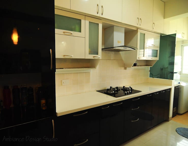 Mr Siddhart Shandilya:  Kitchen by Ambiance Design Studio