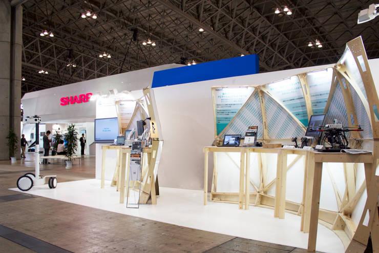 ceatec: Design of Engineering and Fabrication / wipが手掛けた会議・展示施設です。,