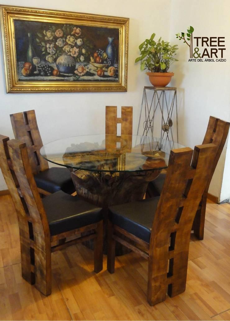 Mobiliario y Decoración: Comedor de estilo  por treeandart