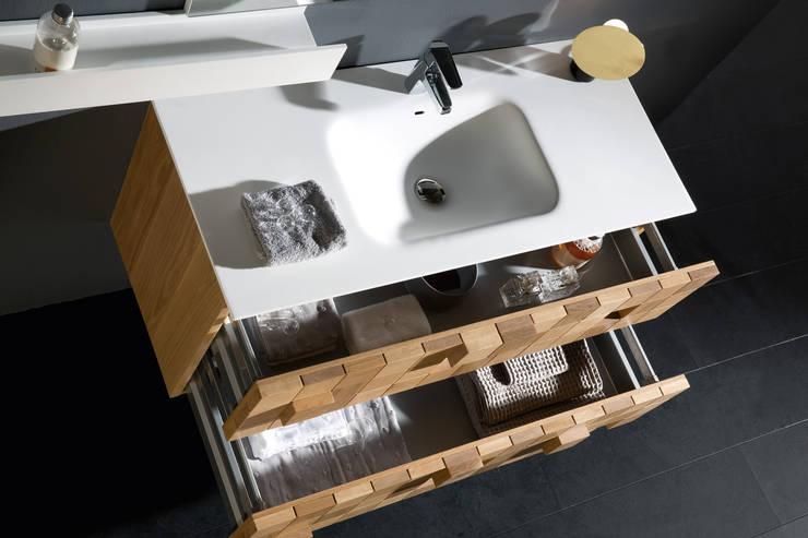 Flow Exclusive Grid Badmeubel:  Badkamer door Flow Company