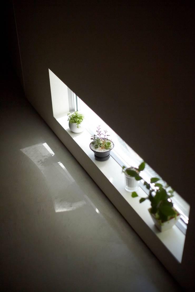 セタガヤの家: シキナミカズヤ建築研究所が手掛けた窓です。,モダン