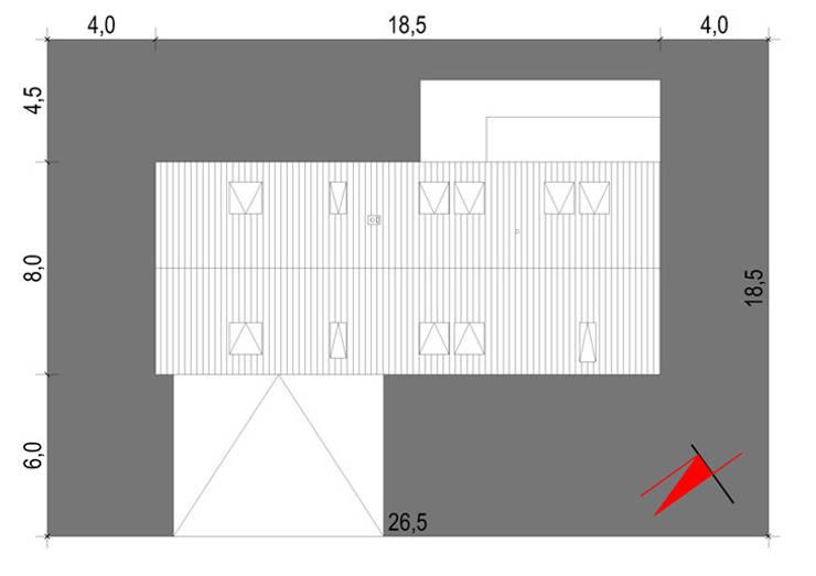 Projekty domów - House 07: styl , w kategorii  zaprojektowany przez Majchrzak Pracownia Projektowa,Nowoczesny