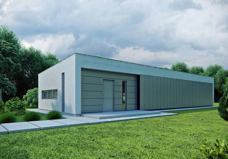 Projekty domów - House 15: styl , w kategorii Domy zaprojektowany przez Majchrzak Pracownia Projektowa