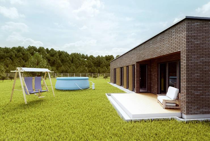 Houses by Majchrzak Pracownia Projektowa, Modern