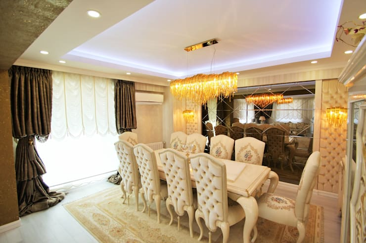 Murat Aksel Architecture – Apartment:  tarz Ev İçi