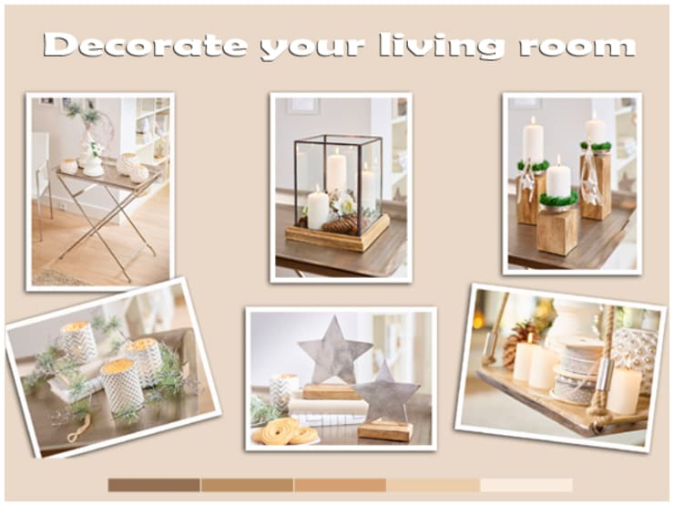 Decorate your living room:   door Groothandel in decoratie en lifestyle artikelen, Klassiek